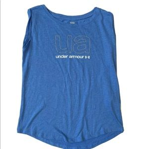 Under Armour heat gear loose fit tank top tee